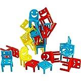 Yifuty Kinder pädagogisches Spielzeug Stühle gestapelt hoch, Konzentration und logisches Denken Ausbildung Kindergarten Eltern-Kind-Interactive-Brettspiel 2-4 Personen