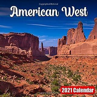 Calendar 2021 American West: Amazing West America Images Monthly Mini Calendar