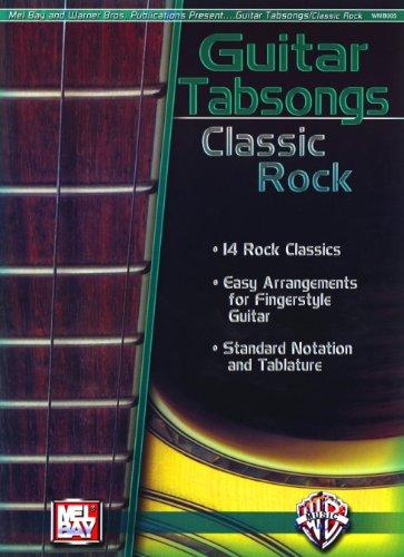 Guitar Tabsongs: Classic Rock Noten voor gitaar, tablet, gitaar