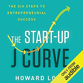 Page de couverture de The Start-Up J Curve