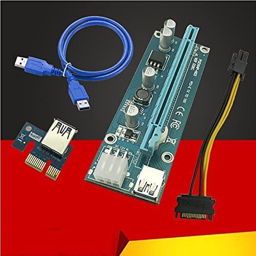Riser Card PCI-E half 1x to 16x IDE 3.0 USB Ranking TOP3 Cable SATA