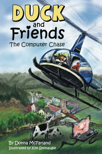 Duck and Friends: The Computer Chase (English Edition)