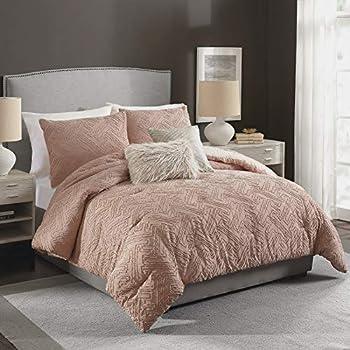 Best blush comforter set queen Reviews