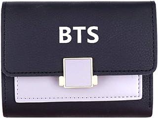 H01 Yovvin Kpop BTS Bangtan Boys Member Portefeuille en Toile Porte-Monnaie Cadeau des Fans
