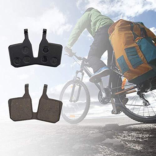 Pnxq88 2 Pares Disco Tipo Pastillas de Freno, Resina Antideslizante Montaña Bicicleta Pastillas Freno para Magura MT5 MT7