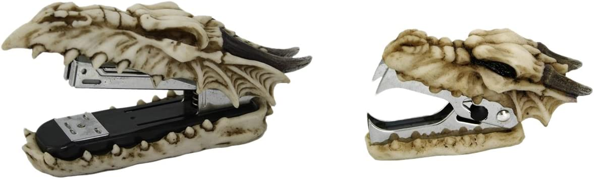 Pacific Giftware Novelty Max 58% OFF Guardian Skull Stapler O Dragon Remover Fashionable