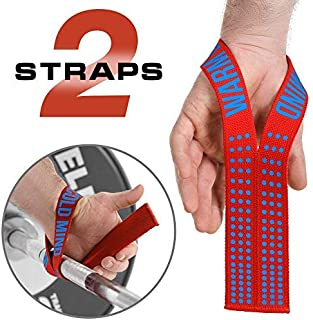 WARM BODY COLD MIND Lifting Wrist Straps for Weight Lifting - Olympic Weightlifting Straps for Powerlifting, Crossfit, Functional Fitness Strength Training - Heavy-Duty Cotton Wrist Wraps