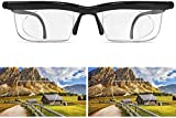Aisima Adjustable Focus Glasses Dial Vision Reading Glasses,for Nearsighted Farsighted