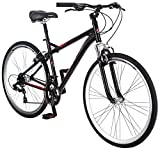 Schwinn Men's Siro Hybrid Bicycle 700c Wheel, Medium Frame Size Black
