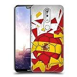 Head Case Designs España Saltos de Fútbol Carcasa rígida Compatible con Nokia X6 / 6.1 Plus
