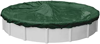 Pool Mate 3233-4-PM Heavy-Duty Winter Round Above-Ground Pool Cover, 33-ft, Grass Green