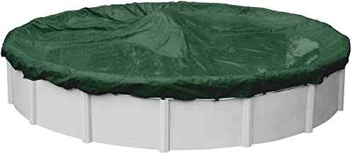 Robelle 3218-4 Dura-Guard Winter Pool Cover for Round Above Ground Swimming Pools, 18-ft. Round Pool
