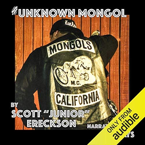 The Unknown Mongol audiobook cover art