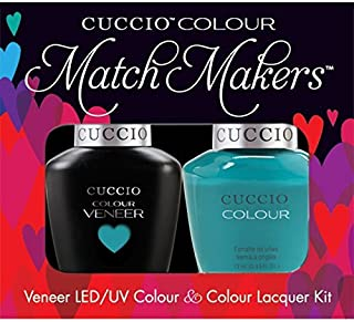 Cuccio Matchmakers Duo - Muscle Beach - Venice Beach '81 Spring/Summer Nail Polish + Uv/Led Gel by Cuccio
