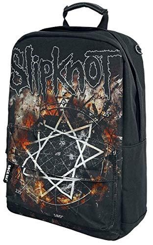Rock Sax Slipknot Pentagram Backpack