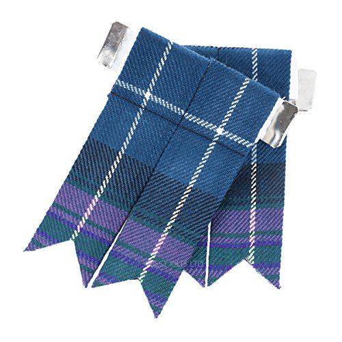 Flasques pour kilt Pride of Scotland Tartan