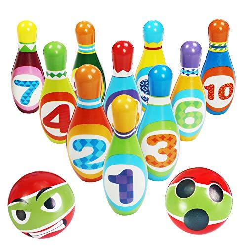 CXTSMSKT Kids Bowling Toys Set Toddlers Indoor Numeral Educational Toys for Kids