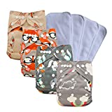 Ohbabyka Reusable Washable Baby Boys