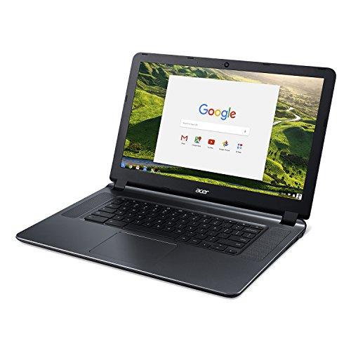 "Acer 15.6"" Chromebook Celeron N3060 Dual-Core 1.6GHz 2GB RAM 16GB Flash ChromeOS (Renewed)"