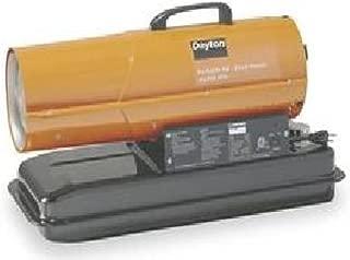 Dayton 50000 BtuH Oil Fired Torpedo Heater, Kerosene/Diesel, 3VE48