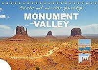 Erlebe mit mir das gewaltige Monument Valley (Tischkalender 2022 DIN A5 quer): Das Monument Valley ist eine Ebene auf dem Colorado-Plateau in Utha. (Monatskalender, 14 Seiten )