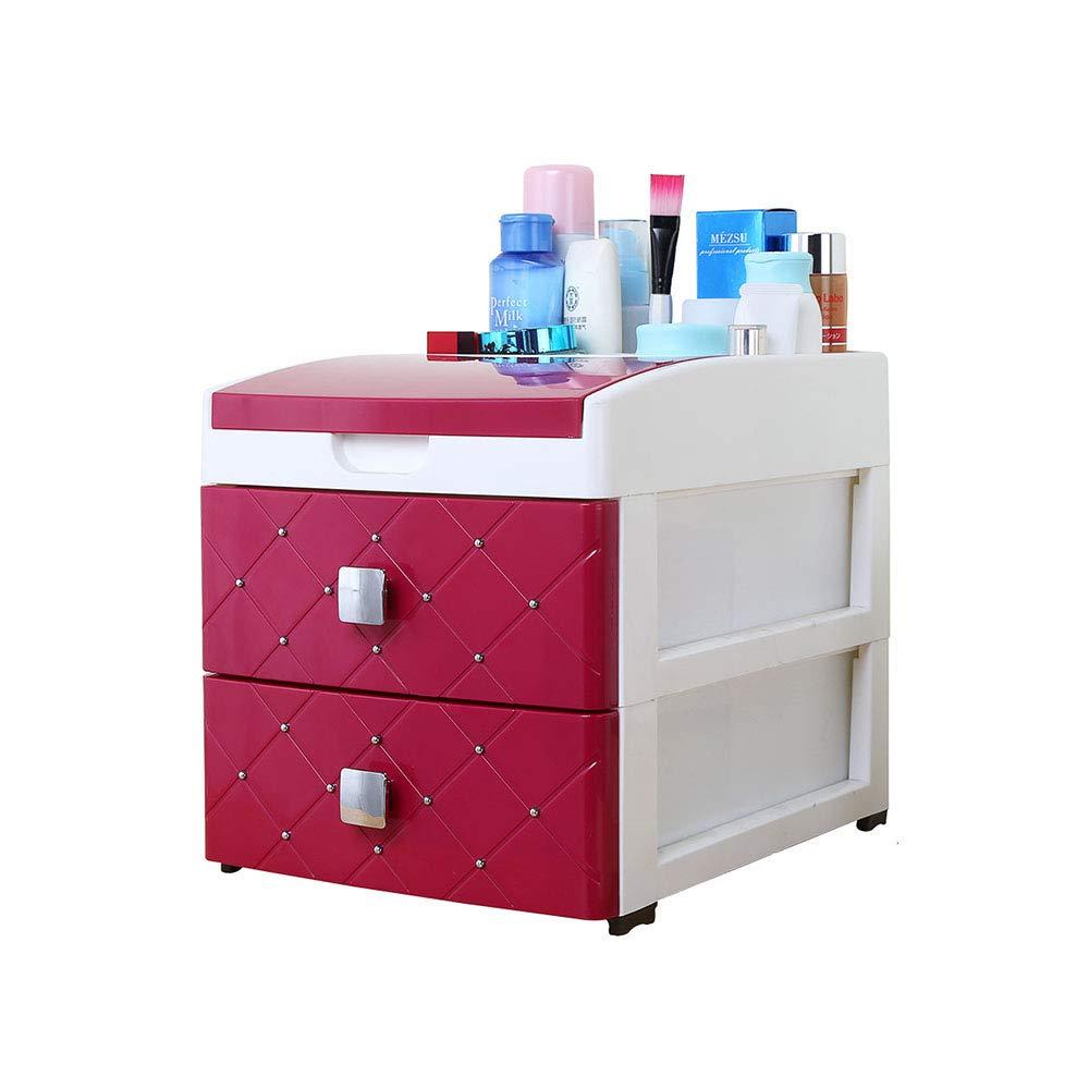Organizador de Escritorio Caja de Almacenamiento de Caja de Almacenamiento cosmética Tipo cajón Caja de Almacenamiento de Escritorio Creativa de Oficina: Amazon.es: Hogar