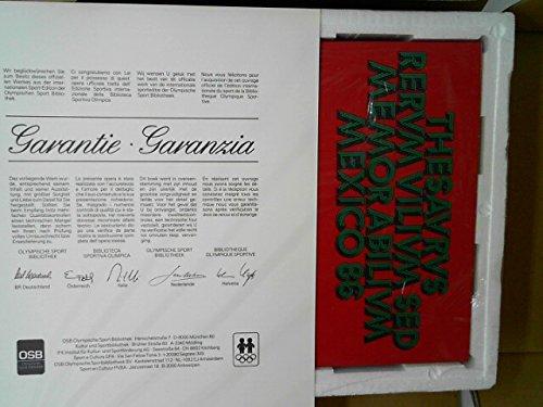 Thesavrvs Rervm Vilivm Sed Memorabilivm Mexico 86. Schatz von Dingen ohne Wert, aber doch der Erinnerung würdig. (Mit Erde vom Azteken Stadion, Weltmeisterschaftsbriefmarke, ein Peso sowie eine Eintrittskarte von der Fußball-Weltmeisterschaft von 1986 in
