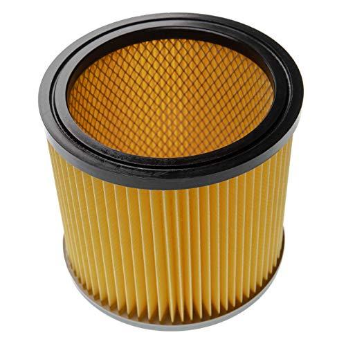 vhbw Staubsaugerfilter passend für Bosch Gas 12-30 F Professional, PAS 1000, PAS 11-25, PAS 11-25 F, PAS 12-50 F Staubsauger; Faltenfilter
