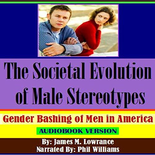 The Societal Evolution of Male Stereotypes audiobook cover art