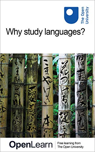 Couverture du livre Why study languages? (English Edition)