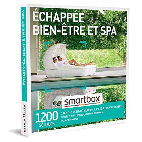 SMARTBOX - Coffret Cadeau femme homme couple - Échappée bien-être et spa