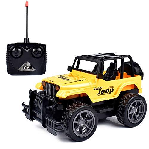 R/C vehículo juguete SUV control remoto todoterreno Jeep coche juguete 1:24 escala, 2.4 GHz pie grande Radio Control modelo coche eléctrico juguete Dirt Bike