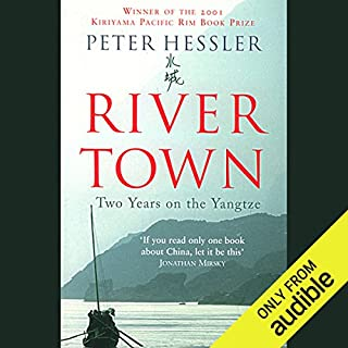 River Town audiobook cover art