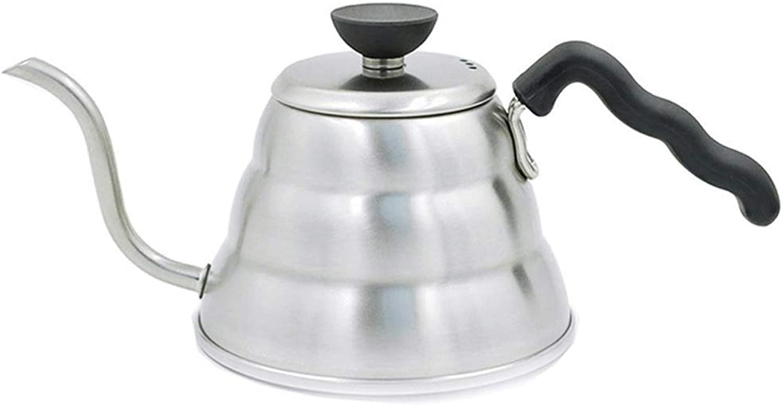 TYUIO Bouilloire à col de Cygne - Chauffe-Eau électrique Rapide pour ébullition de la Bouilloire électrique pour café et thé - Bouilloire pour théière avec Bouilloire de 1 Litre