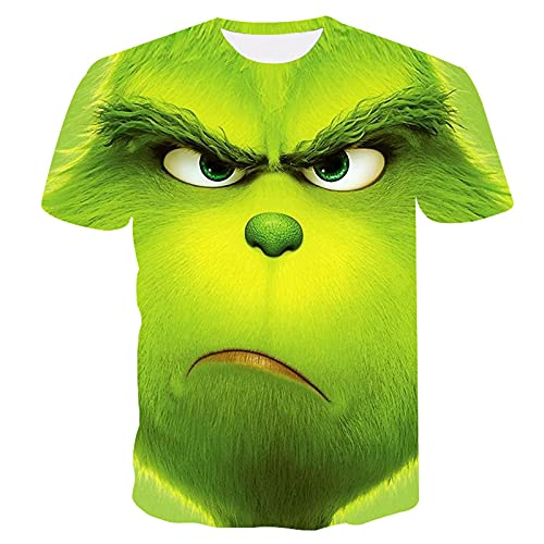 SSBZYES Verano Camisetas para Hombre Camisetas De Manga Corta para Hombre Camisetas De Talla Grande Camisetas Verdes para Hombre Camisetas De Cuello Redondo para Hombre Camisetas Estampadas