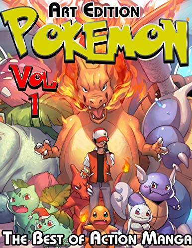 The Best of Action Manga Pokemon Art Edition: Complete Edition Pokemon Vol 1 (English Edition)