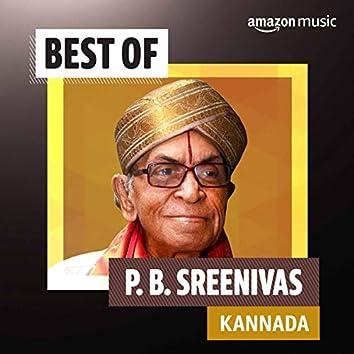 Best of P. B. Sreenivas (Kannada)