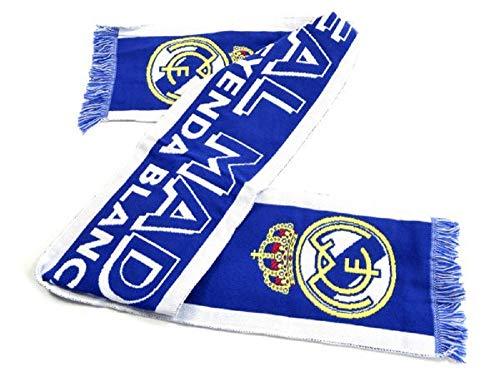 Real Madrid Bufanda azul blanco