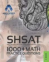 shsat practice tests tjhsst edition 2014 update