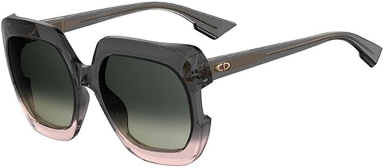 New Christian Dior Gaia 7HH PR Grey Shaded Pink Grey Shaded Green Sunglasses