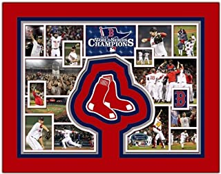 Boston Red Sox 2013 World Series Champions Photo Collage 11