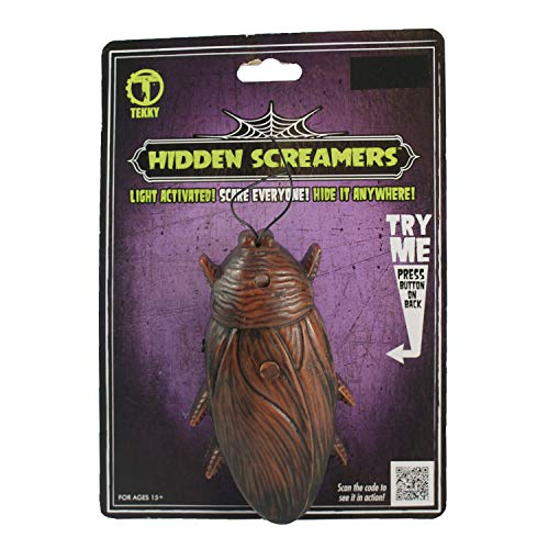 Dazzling Deals Hidden Screamers Light Activated Roach