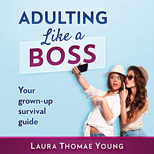 Adulting Like a Boss audiobook cover art