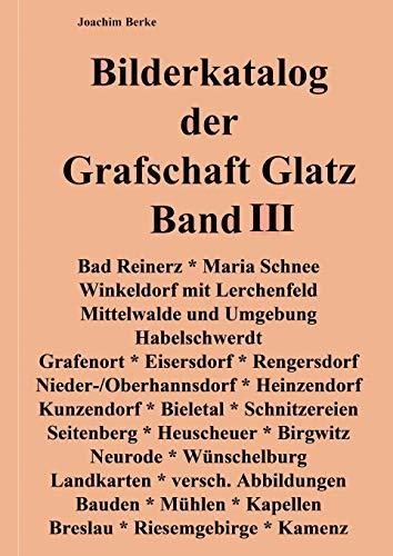 Bilderkatalog der Grafschaft Glatz Band III