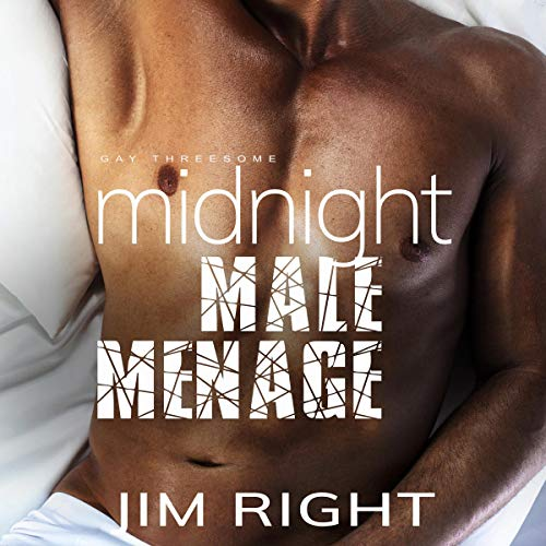 Midnight Male Ménage cover art
