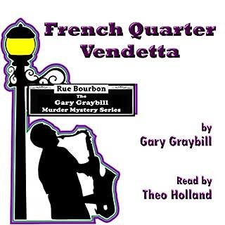 French Quarter Vendetta audiobook cover art