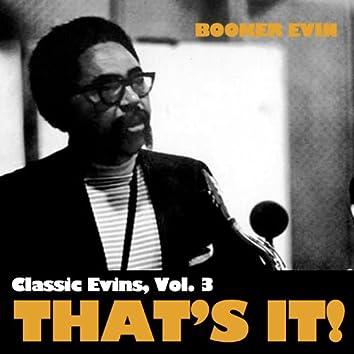 Classic Ervin, Vol. 3: That's It!