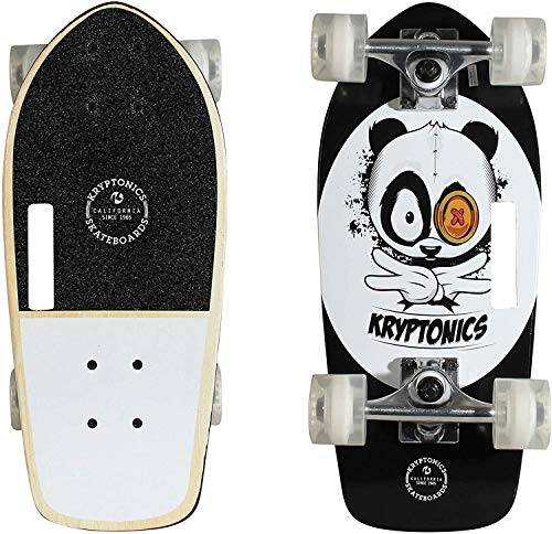 Nologo XSHUIQUAN Complete Skateboard (Style : Panda Vibes)