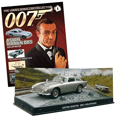 007 James Bond Car Collection #1 Aston Martin DB5 (Goldfinger)