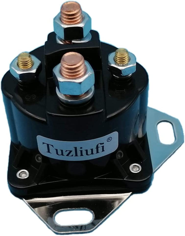 Tuzliufi Starter List price Solenoid Relay Switch for Contact Columbus Mall 12V Copper Ma
